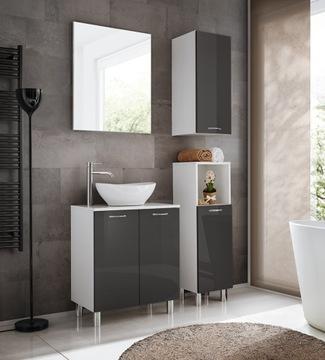 Ванная комната NIKA мебель для ванной комнаты с Зеркалом доставка товаров из Польши и Allegro на русском