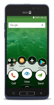 Smartfon dla Seniora Doro 8035 5'' LTE HAC SOS доставка товаров из Польши и Allegro на русском