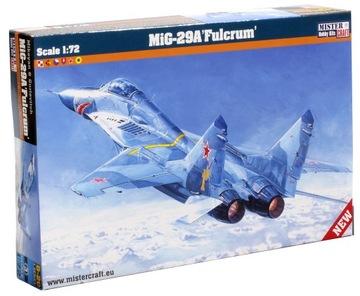 МОДЕЛЬ САМОЛЕТА ДЛЯ СКЛЕИВАНИЯ Миг-29А FULCRUM доставка товаров из Польши и Allegro на русском