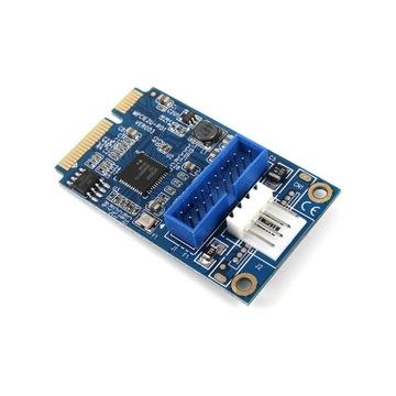 Адаптер MINI PCI-E для USB 3.0 доставка товаров из Польши и Allegro на русском