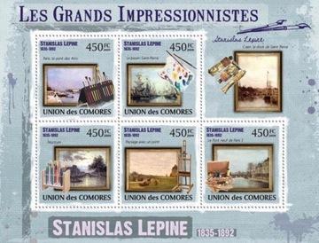 Живопись Импрессионизм S. Lepin Камеры #CM9322a доставка товаров из Польши и Allegro на русском