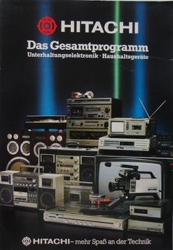 HITACHI TV HiFi Аудио Радио каталог доставка товаров из Польши и Allegro на русском