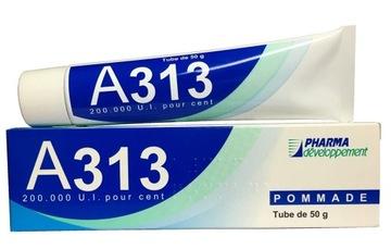 A313 pommade витамин А ретинол 0,2% крем с аптеки доставка товаров из Польши и Allegro на русском