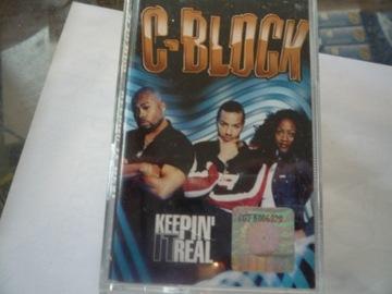 c-block - keepin it real [ kaseta mag ] доставка товаров из Польши и Allegro на русском