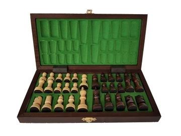 Шахматы деревянные ТУРНИРНЫЕ ШКОЛА 28 x 28 доставка товаров из Польши и Allegro на русском