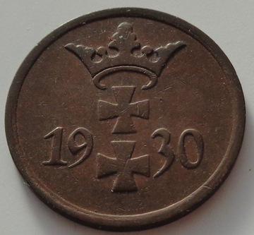 Вольный Город Данциг - 1 fenig - 1930 - WMG / K-В доставка товаров из Польши и Allegro на русском