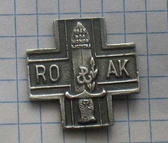 знак RO АК 1945 Бог, Честь, Родина доставка товаров из Польши и Allegro на русском