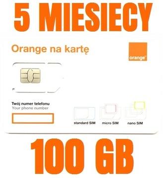 STARTER INTERNET ORANGE FREE 100 GB