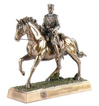 ЮЗЕФ ПИЛСУДСКИЙ НА КОНЕ статуэтка VERONESE statuetk доставка товаров из Польши и Allegro на русском