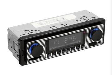 RADIO SAMOCHODOWE w stylu RETRO MP3 Nowe доставка товаров из Польши и Allegro на русском