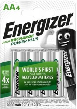 Akumulatorki ENERGIZER Power Plus AA R6 2000mAh x4 доставка товаров из Польши и Allegro на русском