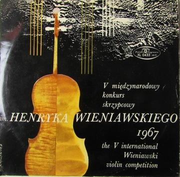 ВИНИЛ КОНКУРС СКРИПАЧЕЙ ИМ. ВЕНЯВСКИЙ 1967 доставка товаров из Польши и Allegro на русском