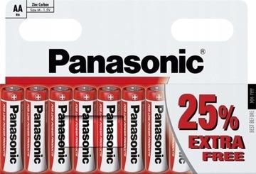 БАТАРЕЙКИ PANASONIC ZINC AA LR6 10 штук доставка товаров из Польши и Allegro на русском