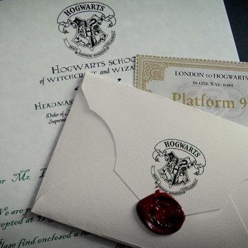 Письмо из Хогвартса к ТЕБЕ! халява! Гарри Поттер доставка товаров из Польши и Allegro на русском