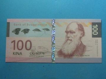 Банкнота 100 Кино Дарвин 2016 Эмиссия Индивидуальная UNC доставка товаров из Польши и Allegro на русском