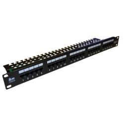 Патч-панель телефонная 25p RJ45 1U 19