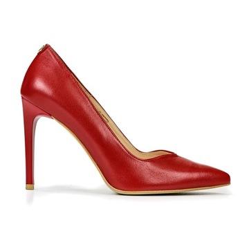 Туфли BALDACCINI 14800 цвет красный № 38 доставка товаров из Польши и Allegro на русском