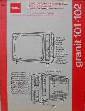 Гранит 101-102 телевизионный приемник Схемы доставка товаров из Польши и Allegro на русском