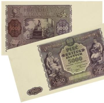 k17 Banknot 5.000 złotych 15.03.1946 kopia доставка товаров из Польши и Allegro на русском