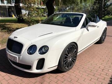 Bentley Continental Supersports Convertible доставка товаров из Польши и Allegro на русском