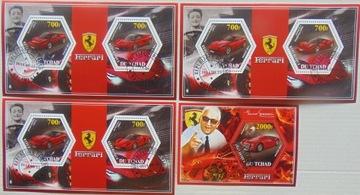 Автомобили FERRARI Tchad комплект из 4 блоков #16190a-d доставка товаров из Польши и Allegro на русском