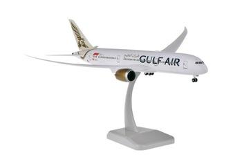 Boeing 787-9 Gulf Air модель самолета 1:200 Hogan доставка товаров из Польши и Allegro на русском