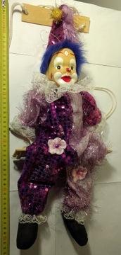 Клоун на качелях, старая, ликвидация коллекции, №1. доставка товаров из Польши и Allegro на русском