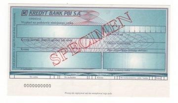 чек печатается Kredyt Bank PBI ЯВЛЯЮТСЯ KBPBI1 доставка товаров из Польши и Allegro на русском
