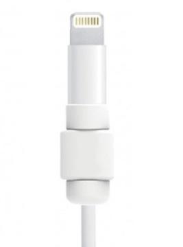 ОБОЛОЧКА ЗАЩИТА КАБЕЛЬ Lighting iPhone Apple БЕЛЫЙ доставка товаров из Польши и Allegro на русском