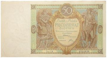 Польша - II RP - КУПЮРА - 50 российский Рубль 1929 доставка товаров из Польши и Allegro на русском