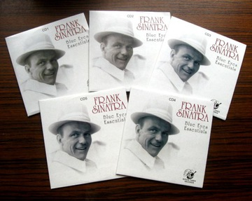 FRANK SINATRA - Blue Eyes Essentials 5CD доставка товаров из Польши и Allegro на русском