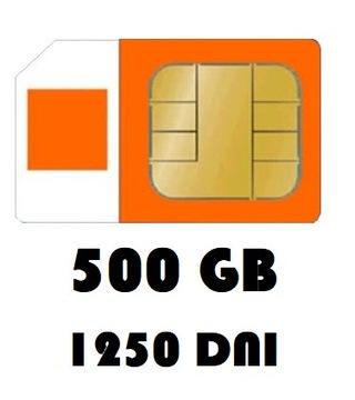 Интернет на карту 500GB Orange Free 1250 дней LTE доставка товаров из Польши и Allegro на русском