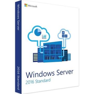 Windows Server 2016 Standard x16 Core с 50 ДЮЙМ доставка товаров из Польши и Allegro на русском