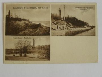Gąski Funkenhagen Koszalin latarnia morska 1928 доставка товаров из Польши и Allegro на русском