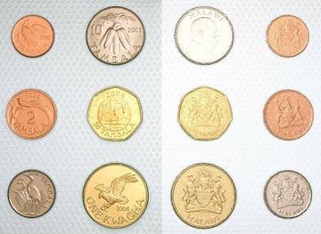 МАЛАВИ набор из 6 монет доставка товаров из Польши и Allegro на русском