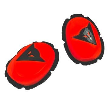 Slajdery на Трассу Dainese Knee Slider | RED-FLUO доставка товаров из Польши и Allegro на русском