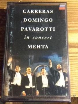 КАРРЕРАС-ДОМИНГО-ПАВАРОТТИ - In concert МЕХТА - MC доставка товаров из Польши и Allegro на русском