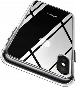 Чехол Premium Clear Чехол для iPhone X / XS + СТЕКЛО доставка товаров из Польши и Allegro на русском