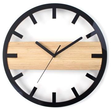 Бамбуковая настенные часы Z1182 НА СТЕНУ ДЕРЕВЯННЫЙ доставка товаров из Польши и Allegro на русском