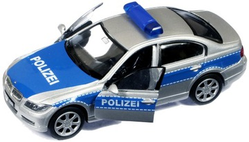 МЕТАЛЛИЧЕСКИЕ АВТО МОДЕЛИ BMW 330i ПОЛИЦИЯ полицейская МАШИНА WELY доставка товаров из Польши и Allegro на русском