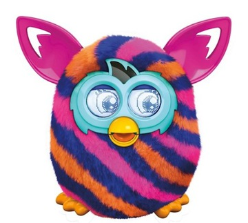 Hasbro Furby Boom Sunny Paski A6119 FRANCUSKI