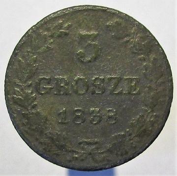 3 КОПЕЙКИ 1838 присоединения к россии, R1 доставка товаров из Польши и Allegro на русском