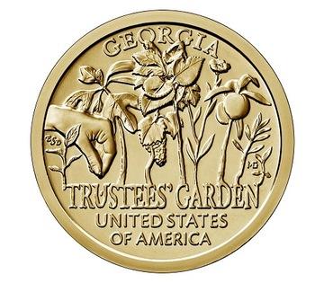 1 доллар (2019) - Инновация Trustees Garden- № 5 доставка товаров из Польши и Allegro на русском