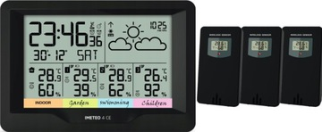 Метеостанция iMeteo CE 3x внешний Датчик доставка товаров из Польши и Allegro на русском