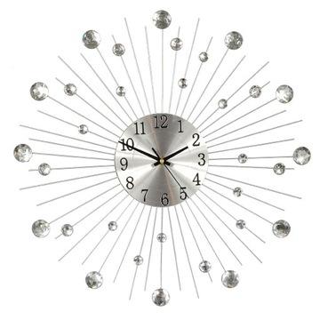 Часы Настенные 33см Стильный DIAMOND КРИСТАЛЛЫ 36ШТ доставка товаров из Польши и Allegro на русском