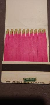 Коллекционные коробку спичек Италия 70-х. доставка товаров из Польши и Allegro на русском