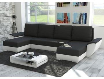 Большой Угловой диван FLY У с функцией спальный раскладной доставка товаров из Польши и Allegro на русском