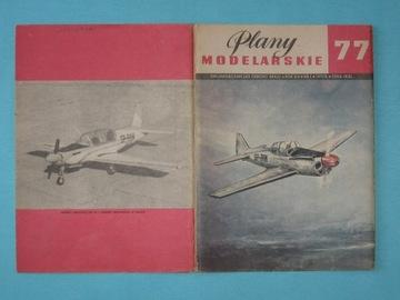 Plany Modelarskie 77 - samolot PZL M-4 TARPAN доставка товаров из Польши и Allegro на русском