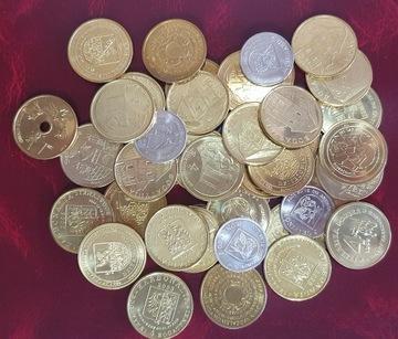 Mix - Монеты-заменители - 10 шт доставка товаров из Польши и Allegro на русском