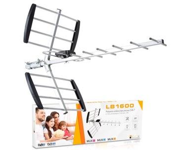 АНТЕННА TV НАПРАВЛЕННОСТИ DVB-T MUX8 VHF UHF LTE 4K доставка товаров из Польши и Allegro на русском